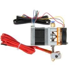 Impresora 3D extrusora MK8 boquilla e3d j-head hotend 0.4mm entrada de alimentación diameter1.75mm filamento