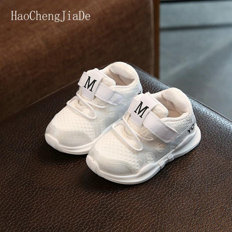 Bērnu apavi 2018 Jauns rudens modes sporta meitenes apavi Mīkstie - Bērnu apavi