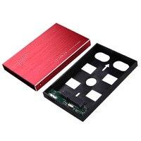 Computer PC USB 3.0 Externe HDD SDD Behuizing 2.5 Inch SATA 3 Harde Schijf Draagbare Caddy Case Ondersteuning 3 TB Aluminium