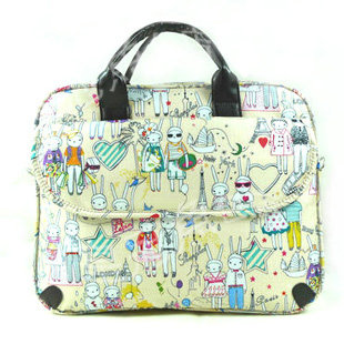 Cute Cartoon Rabbit Bag Laptop Notebook Bags Tablet 14 15 Inches Free Shipping In Cases From Computer Office On
