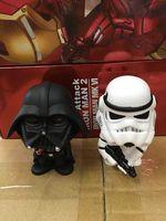 2pc Star Wars Bobblehead 10cm Darth Vader Stormtrooper Bobblehead Dolls Car Decoration Action Figure PVC Toy