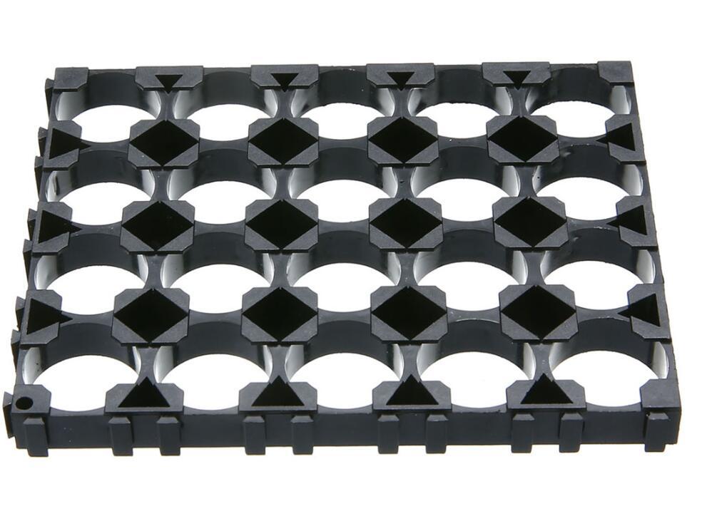 Wholesale 100pcs lot 4x5 Cell Battery Spacer 18650 Battery Radiating Shell Pack Plastic Heat Holder Bracket