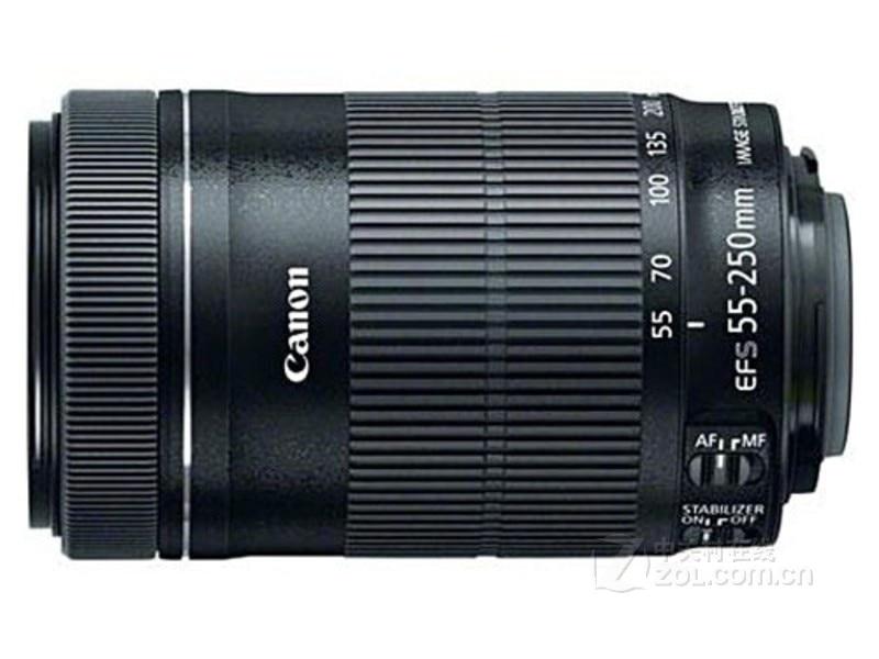 Verwendet Canon EF S 55 250mm f/4 5,6 IST STM kamera objektiv SLR kamera