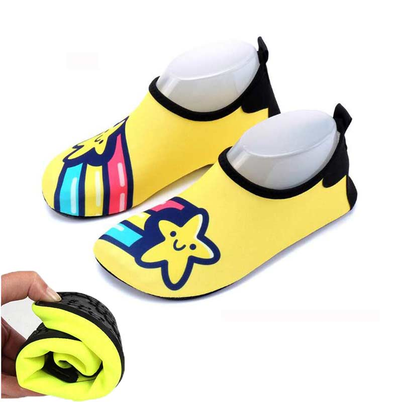Unisex Quick Dry Shoe Kids Boys Shoe Sneaker Fruit Star Print Sport Running For Swimming Pool Beach Kid Shoes Boy Girl Sneakers