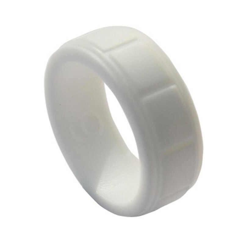100% FDA Food Grade Silikon Cincin Pria Outdoor Olahraga Hypoallergenic Crossfit Karet Fleksibel Jari Cincin untuk Pria Pernikahan Cincin