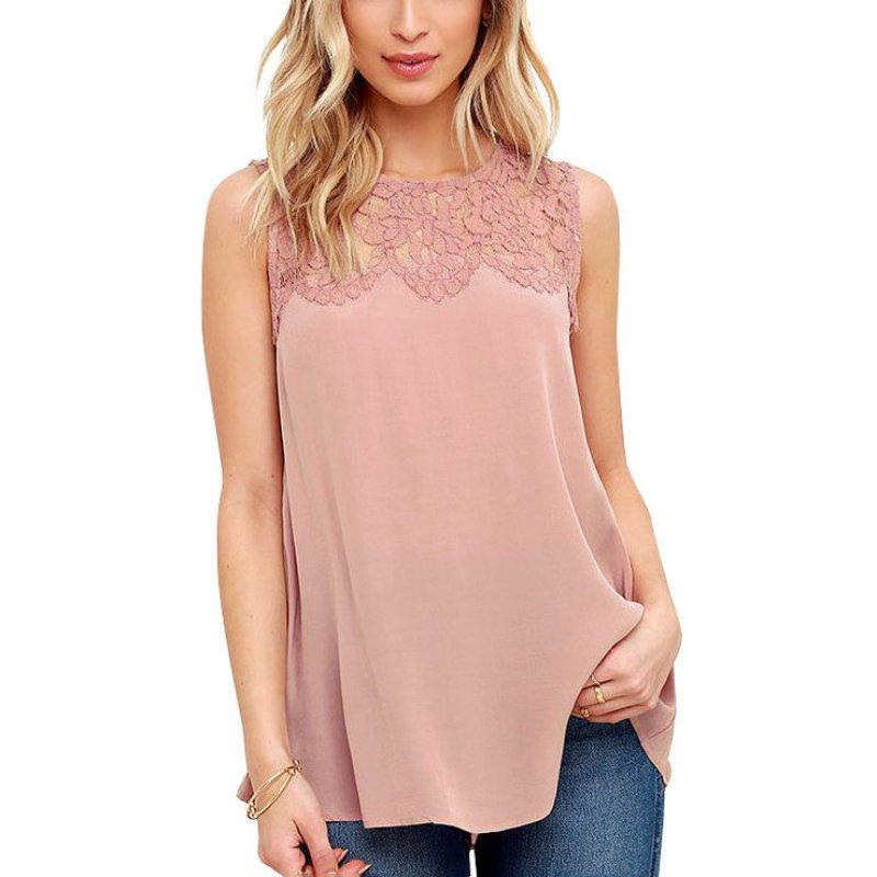 Fashion font b Women b font Shirt Summer Casual O neck Chiffon font b Blouses b