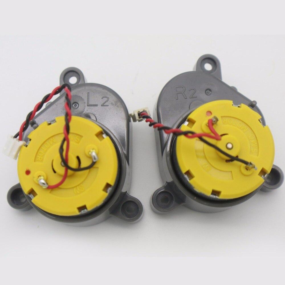 Original Links + Rechts Seite pinsel motor für chuwi ilife V3 v5 v5s x5 v3s v3L v5s pro V3s pro a4s Roboter Staubsauger roboter Teile
