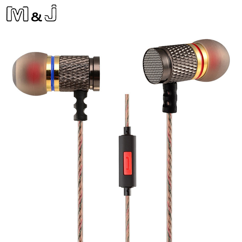 Hot Original KZ ED EDR1 Gold Plated Housing Earphone Double Magnets Drivers Noise Isolating HD HiFi Earphones High Sensitivity