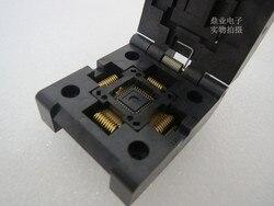Z klapką LGA11T076-001 LGA76 QFN76 IC spalania siedzenia Adapter testowania miejsce badania gniazdo stanowiska do badań w magazynie darmowa wysyłka