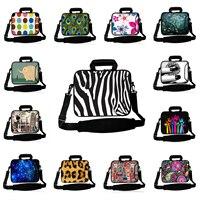 Computer Notebook 15 Inch Universal Neoprene Messenger Shoulder Bags Protector Handbag For HP DELL Toshiba ASUS