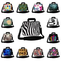 Computer Notebook 15 Inch Universal Neoprene Messenger Shoulder Bags Protector Handbag For HP DELL Toshiba ASUS