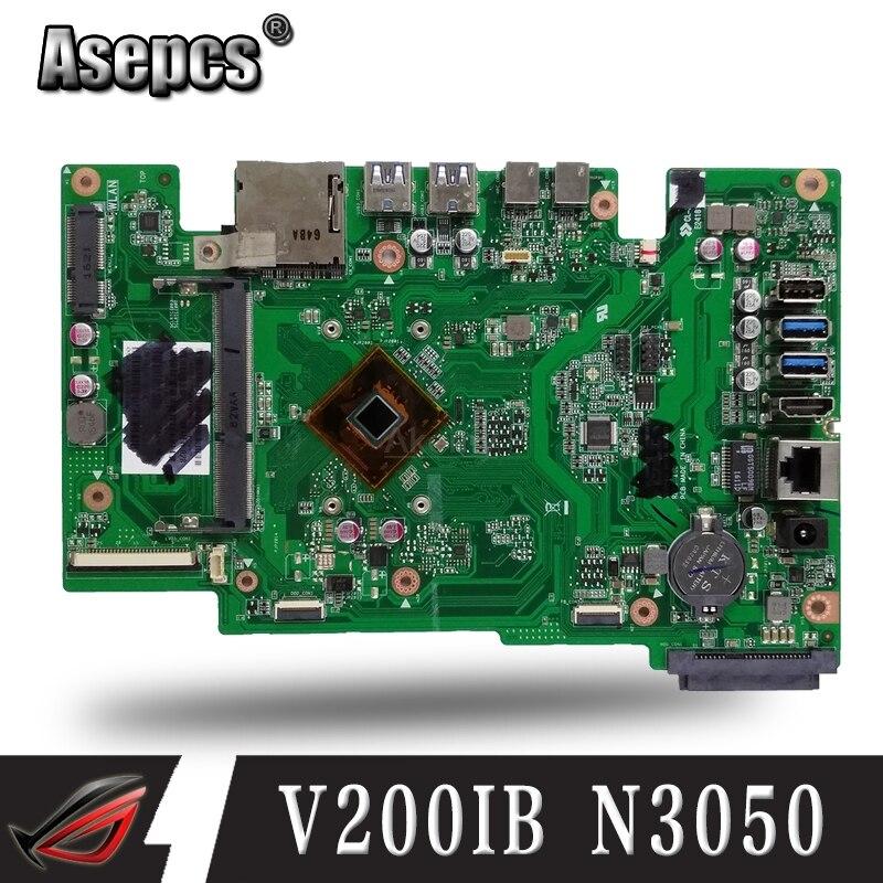 V200IB MAIN_BD_N3050(4)/UMA/AS 90PT01J0-R01000 Motherboard REV 1.5 For ASUS V200I V200IB Desktop Mainboard 100% Tested Working
