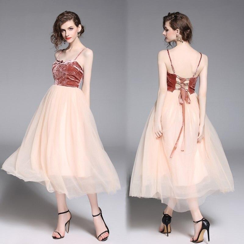 Elegant Tea-Length   Prom     Dresses   Fantastic Velvet Tulle Ball Gown Short vestido de festa Adjustable Lace Up Back gala jurken 2019