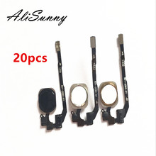 AliSunny 20 шт. гибкий кабель для кнопки домой для iPhone, детали для замены датчика меню
