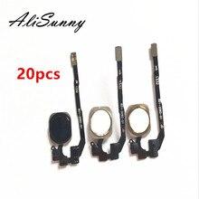 AliSunny 20pcs לחצן בית Flex כבל עבור iPhone 5S תפריט חיישן החלפת חלקים
