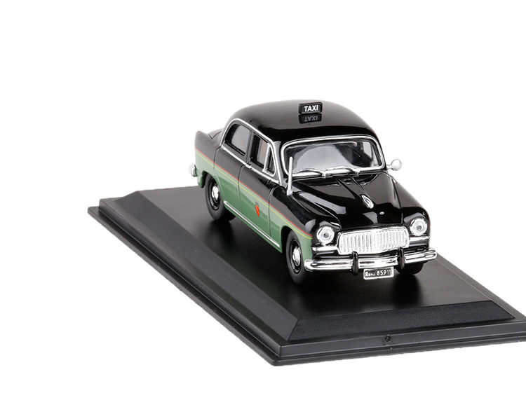 <font><b>1</b></font>/<font><b>43</b></font> Scale <font><b>Car</b></font> <font><b>Model</b></font> Toys Italy 1955 <font><b>FIAT</b></font> I400 Roma TAIX Diecast Metal <font><b>Car</b></font> <font><b>Model</b></font> Toy For Gifts Original Box Free Shipping image