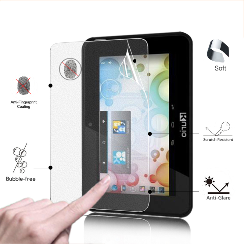 Premium Anti-Glare screen protector protective film matte film For kurio 7S 7.0 tablet anti-fingerprint LCD panel guard