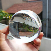 Hot sale Asian Rare Hot Sale 80mm Awesome Ultra Watrer Clear Glass Quartz Crystal Sphere Ball Wholesale