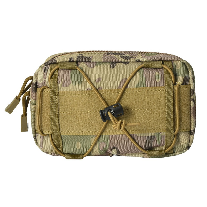 First Aid Pouch Outdoor Belt Bags Nylon Tactical Cellphone Waist Bag Edc Tools Bag Relieving Heat And Thirst.
