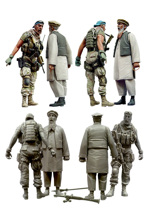 1:35 scale resin model kit resin figure model soldier D0048 цены