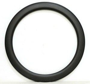 Image 4 - 700C 30/38/45/50/60/88mm tiefe 25mm Breite voll Carbon bike felgen Klammer/Rohr rennrad einzel Felge 3 karat/UD matte finish