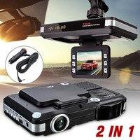 MUQGEW Top Marca Universal 2em1 Venda Quente Câmera Do Carro DVR Traço Cam Recorder + Radar Laser Detector de Velocidade Alerta G-Sensor