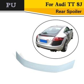 PU Unpainted Grau Primer Auto Hinten Lip flügel für Audi TT 8J 2007-2012