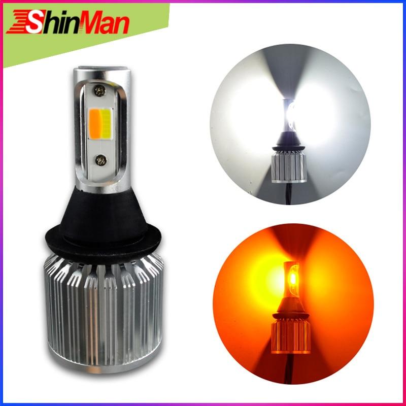 ShinMan 30W COB 1156 1157 3156 3157 T20 7440 7443 WY21W Car LED Turn Signals Light