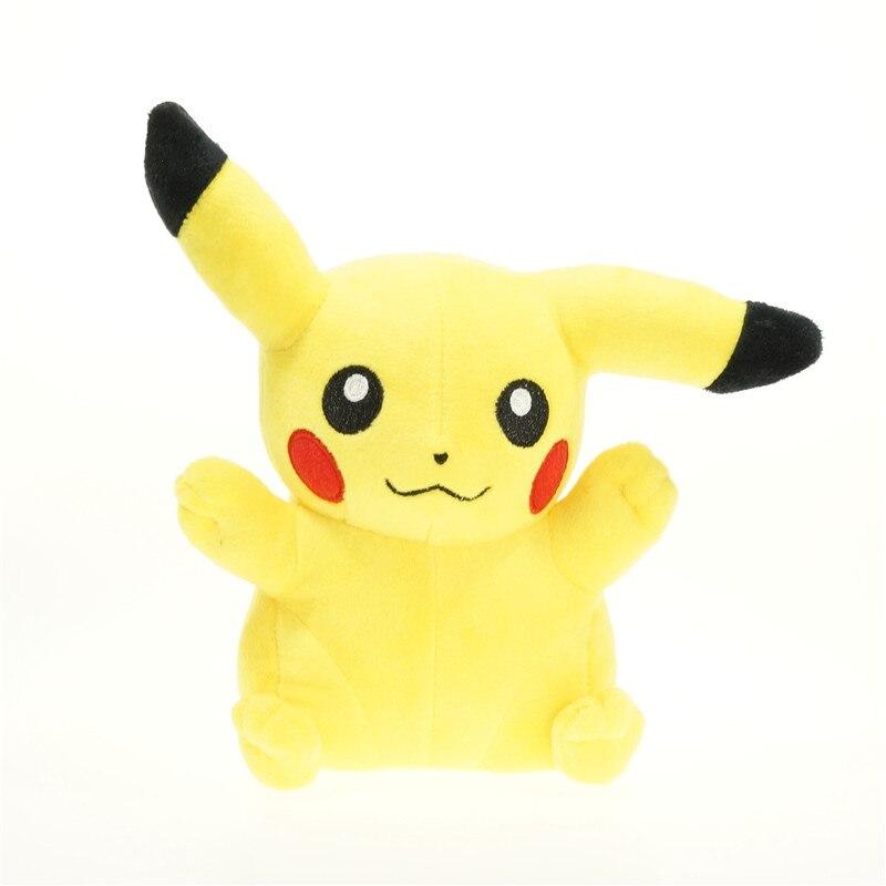 New Arrival 20cm Pikachu Plush Toy Cute Anime Soft Anime Stuffed Plush Toys For Children Best Gifs