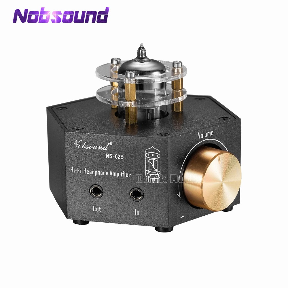 Aliexpresscom 2018 Nobsound Ns 02e Class A 6n3 Vacuum Tube 12au7 Headphone Amplifier Stereo Hifi Amp Pre