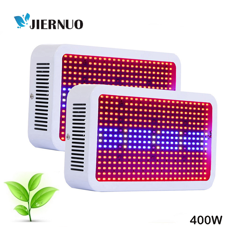 2pcs Full Spectrum Led Grow Light 400W Grow Lights Indoor Plant Lamp for Plants Flower Greenhouse Grow Box/Tent Bloom AE hot sale 12w led plant grow lamp high bright appliable for indoor planting grow box grow tent lighting long lifespan