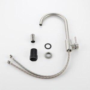 Image 5 - hm 360 градусов холодный и горячий кухонный кран с одним отверстием водопроводный кран кухонные смесители