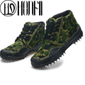 New spring Summer men round Toe high vamp Male military working shoes camouflage shoes outdoor casual shoes hot selling