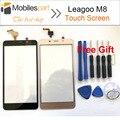 Leagoo M8 Tela Sensível Ao Toque 100% Original Substituição Do Painel de Digitador Touch Screen Display Para Leagoo M8 Smartphone Em Estoque