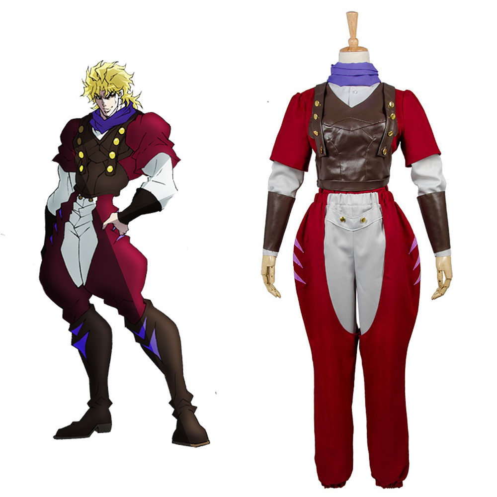 JoJo's Bizarre Adventure PB Dio Brando Phantom Blood Eyes of Heaven Full Set Uniform Carnival Cosplay Costume Outfit