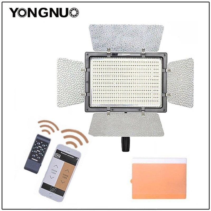 YONGNUO YN900 YN-900 Pro LED panneau vidéo lumière avec température de couleur réglable 3200 K-5500 K pour Canon Nikon caméra caméscope