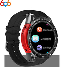 цена на 696 X100 Bluetooth Smart Watch Heart rate Music Player Facebook Whatsapp Sync SMS Smartwatch wifi 3G WCDMA For Android Fast ship