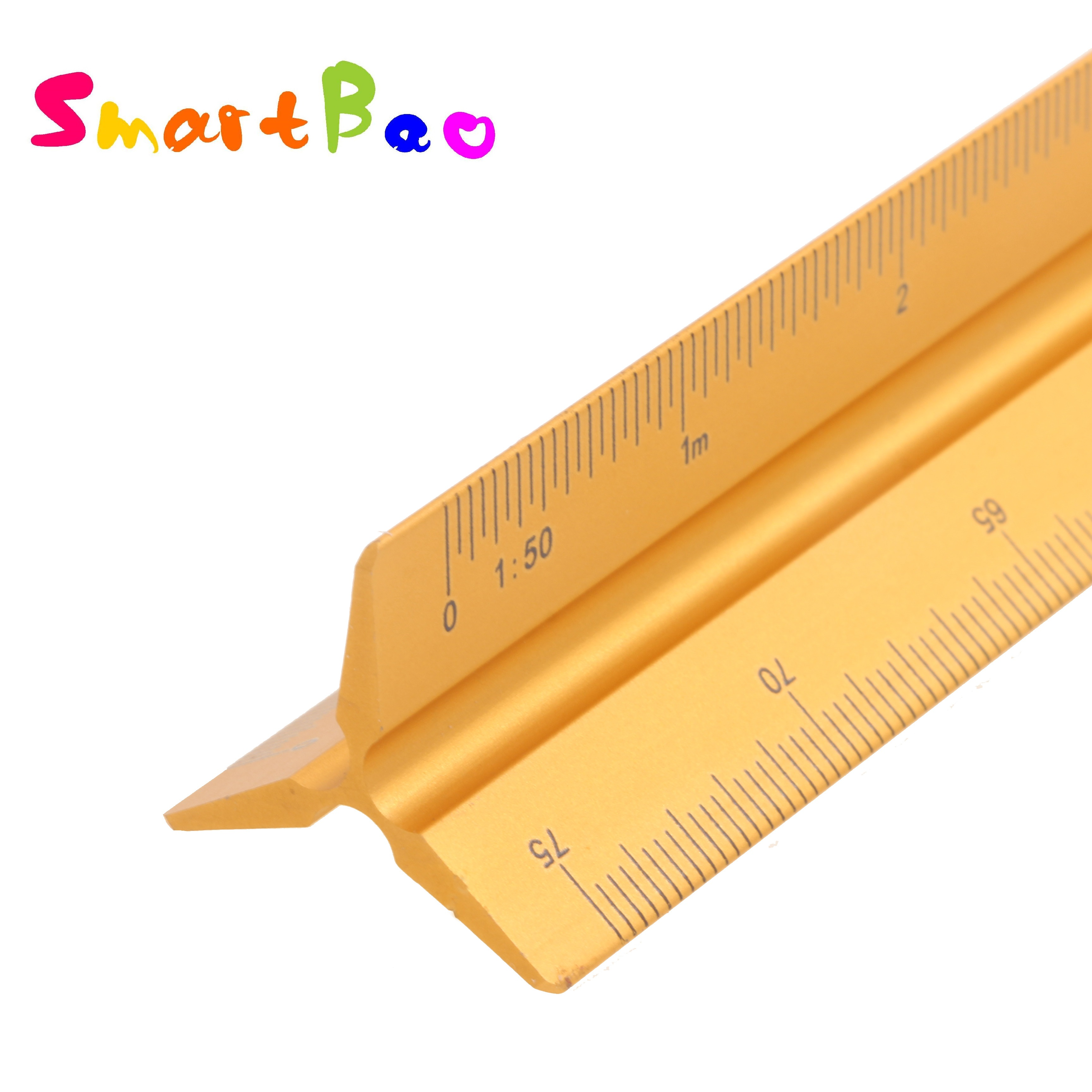 Triangular Architectural Scale Ruler Engineering Drafting Ruler Architect Tool