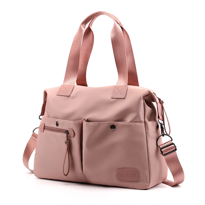 2019 Waterproof Nylon Gym Fitness Bag Women Sack Handbag Ladies Luggage Tote Shoulder Travel Duffel Blaso For Shoes Gymtas