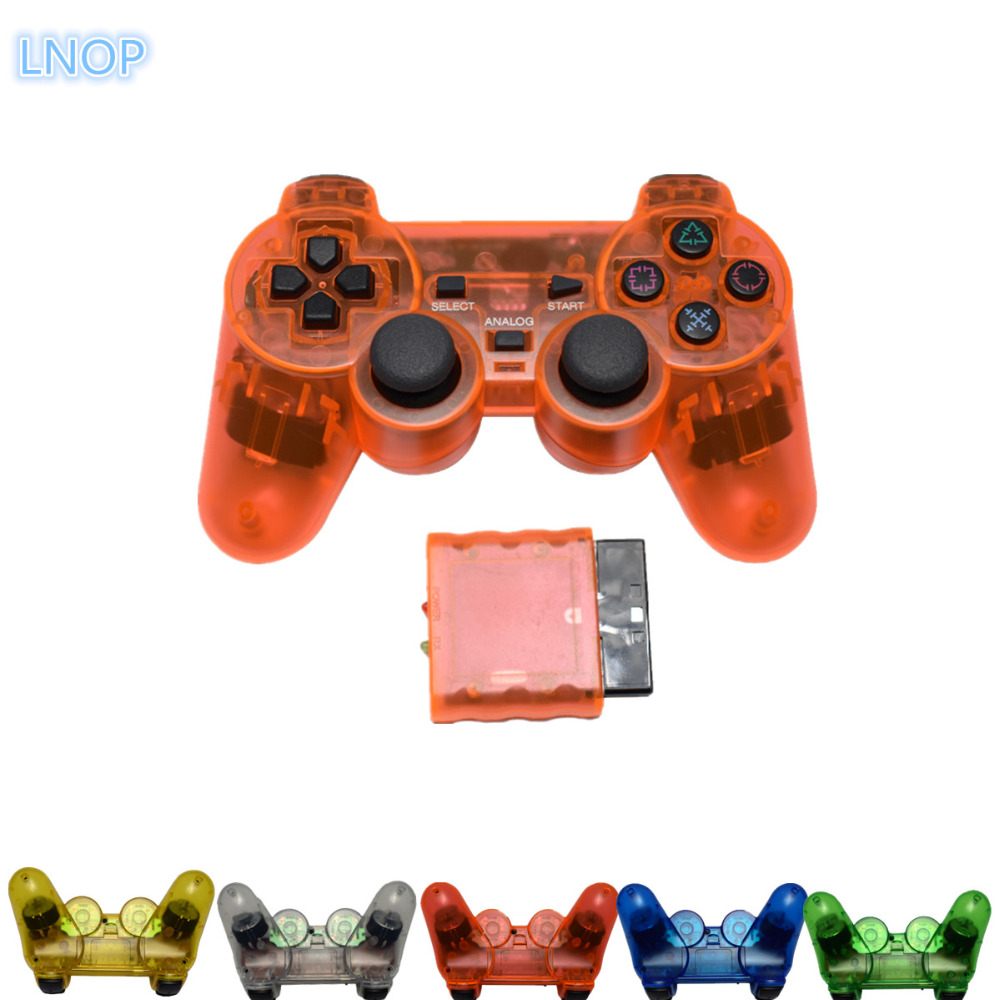 2.4G wireless game controller gamepad joystick for PS2 console playstation 2 Vibration video gaming play station for Sony joypad wireless controller gamepad joystick for wii u pro