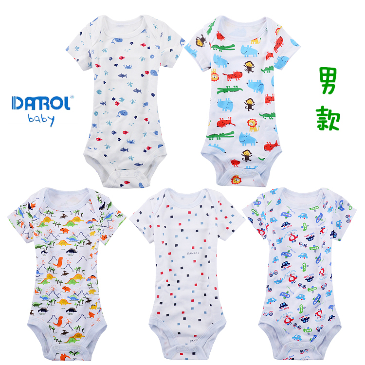 Image 2 - Hooyi Baby Bodysuits Long Sleeve full print body bebe baby boy clothes jumpsuit ropa de bebe months body baby girl clothing Set-in Bodysuits from Mother & Kids