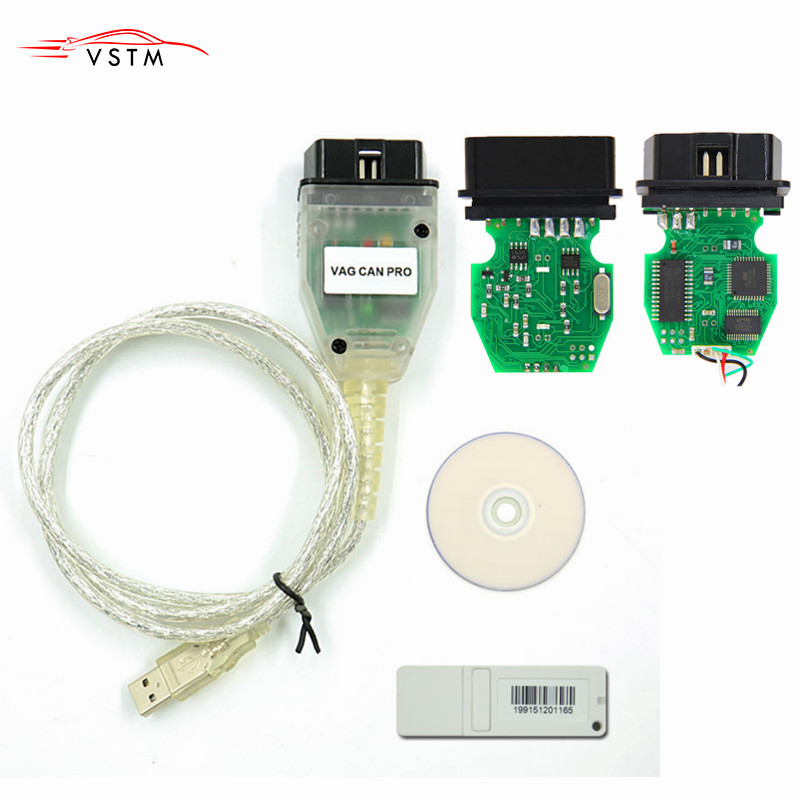 HOT SALE] VAG CAN PRO V5 5 1 with FTDI FT245RL Chip VCP OBD2