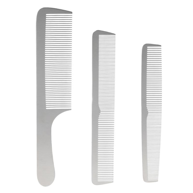 1Pc Professional Salon Stainless Steel Sliver Comb Hair Styling Tool For Men & Women Hot New