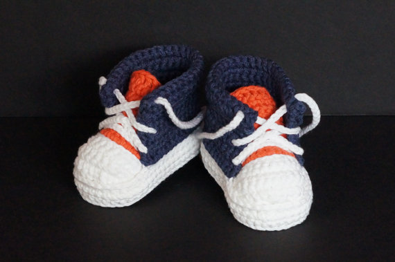e4458bb5f Crochet Baby boy Sneakers Handmade baby Shoes Knitted Baby Infant Shoes  Toddler Booties Baby Tennis shoes size 9cm 10cm 11cm