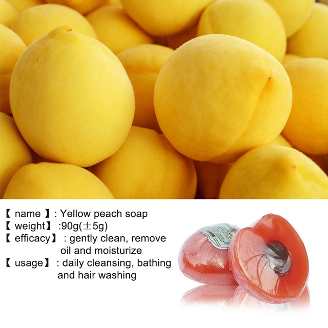 Handmade Whitening Fruit Soap Control Oil Remove Blackheads Anti-Mites Shrinking Pores Soap For Face Body 2