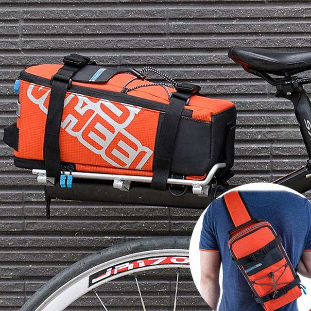 Roswheel 5L waterproof mountain road bike rear bag multifunctional bicycle bag Sport cycling Shoulder Bag handbag 400D Nylon 141