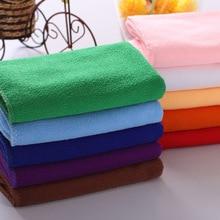 1PC 30x30cm printing children small towel Absorbent Microfiber Bath Beach Towel Drying hand towel