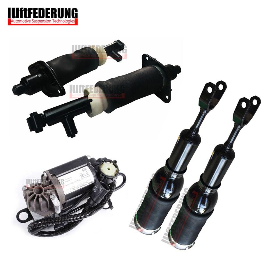 Luftfederung 5 pcs Arrière De L'air Compresseur D'air Avant Printemps Fit Audi A6 C5 4Z7616051A (51B) 4Z7616007 4Z7513032A (32B)