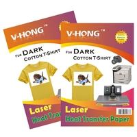 A4 Light T Shirt Cotton Sublimation Paper Heat Transfer Paper For Inkjet Printer