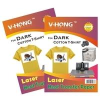 A4 Light T Shirt Cotton Sublimation Paper Heat Transfer Paper For Inkjet Printer